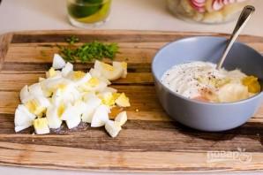 Весенний картофельный салат - фото шаг 5