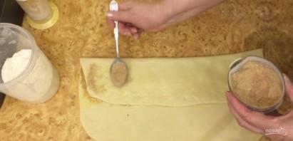 Мягкие сливочные булочки с корицей - фото шаг 5