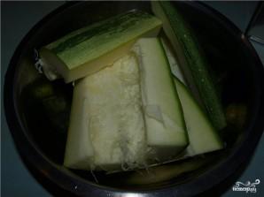 Котлеты из кабачков с овсянкой - фото шаг 1