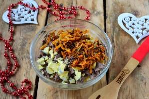 Новогодний салат в Год Собаки - фото шаг 6