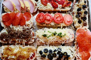 """Бутерброды """"Пицца"""" - фото шаг 8"""