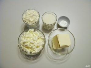 Творожное тесто для печенья - фото шаг 1