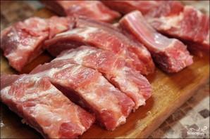 Свинина на ребрышках в духовке - фото шаг 1