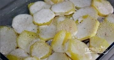 Селедка на картофельной подушке - фото шаг 5