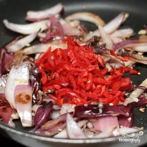 Чили из черной фасоли и баклажан - фото шаг 6