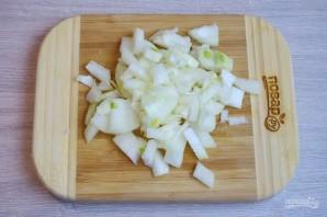Суп с фасолью и лапшой - фото шаг 3