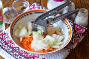 Закуска из лука и моркови - фото шаг 3