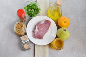 Салат из утки - фото шаг 1