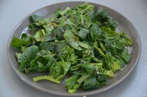 Салат со шпинатом и креветками - фото шаг 2