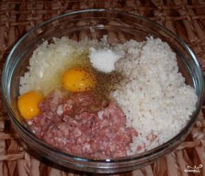 Тефтели с моцареллой в томатном соусе - фото шаг 3