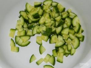 Зеленый салат с авокадо - фото шаг 1