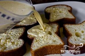 Французские тосты крем-брюле - фото шаг 3