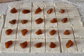 Творожное печенье с фруктами - фото шаг 7