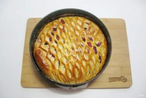 Дрожжевой пирог с малиной - фото шаг 11