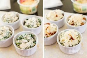 Дип с сыром, беконом и зеленью - фото шаг 4