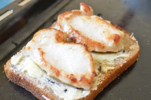 Бутерброды к пиву - фото шаг 4