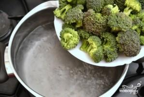 Брокколи со сливками - фото шаг 2