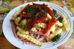 Капустный салат с омлетом - фото шаг 6