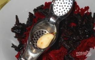 Салат из красной свеклы - фото шаг 3