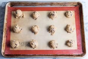 Песочное печенье с шоколадом и маршмеллоу - фото шаг 11