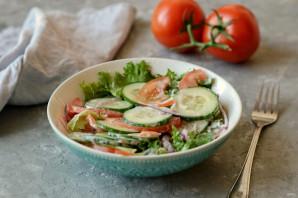 Овощной салат с йогуртом - фото шаг 6