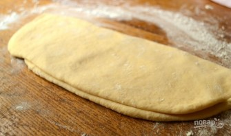 Слоеное тесто на кефире - фото шаг 4