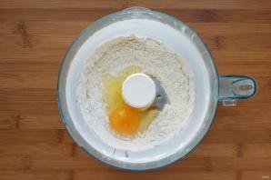 Киш со шпинатом и сыром - фото шаг 3