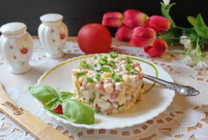 Салат с жареным яйцом и курицей - фото шаг 10