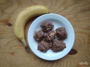 Шоколадно-банановые конфеты - фото шаг 4