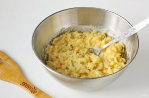 Картофельные оладьи с сыром - фото шаг 6