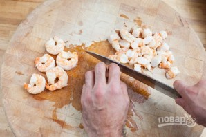 Рецепт салата с креветками - фото шаг 5