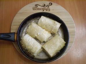 Лаваш с рисом и яйцом - фото шаг 10