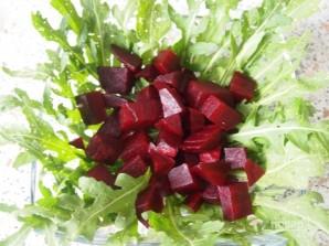 Салат со свеклой и брынзой - фото шаг 4