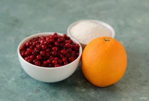 Брусника с апельсином на зиму - фото шаг 1