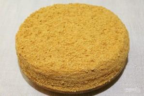 Арахисовый торт - фото шаг 17