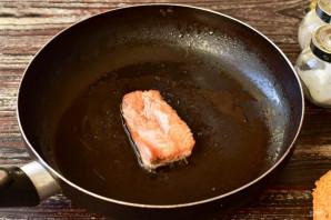 Рыбный бургер - фото шаг 4