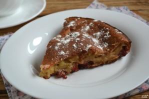 Вишневый пирог на кефире - фото шаг 7