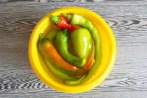 Мочёный острый перец на зиму - фото шаг 5