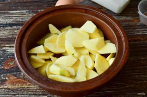 Яблочный флан