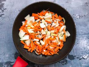 Фунчоза с фасолью - фото шаг 3