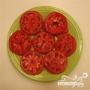 Румяный сандвич с помидором - фото шаг 2