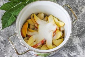 Компот из яблок, груш и слив - фото шаг 5