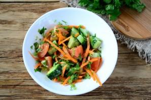 Салат из стейка с овощами - фото шаг 7