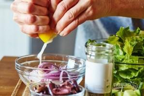 Легкий летний салат с фетой - фото шаг 2