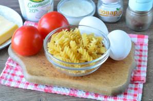 Запеканка из макарон с помидорами и сыром - фото шаг 1