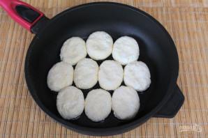Сырники с кокосом - фото шаг 5