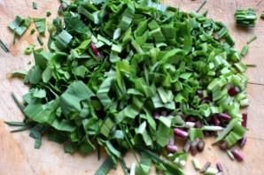 Маринованная говядина с овощами и зеленью - фото шаг 2