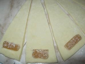 "Печенье ""Рогалики с мармеладом"" - фото шаг 4"