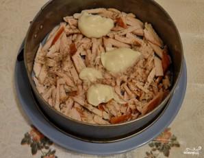 Салат с копченой курицей и грибами слоями - фото шаг 1