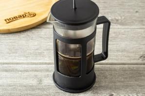 Кофе с базиликом - фото шаг 4